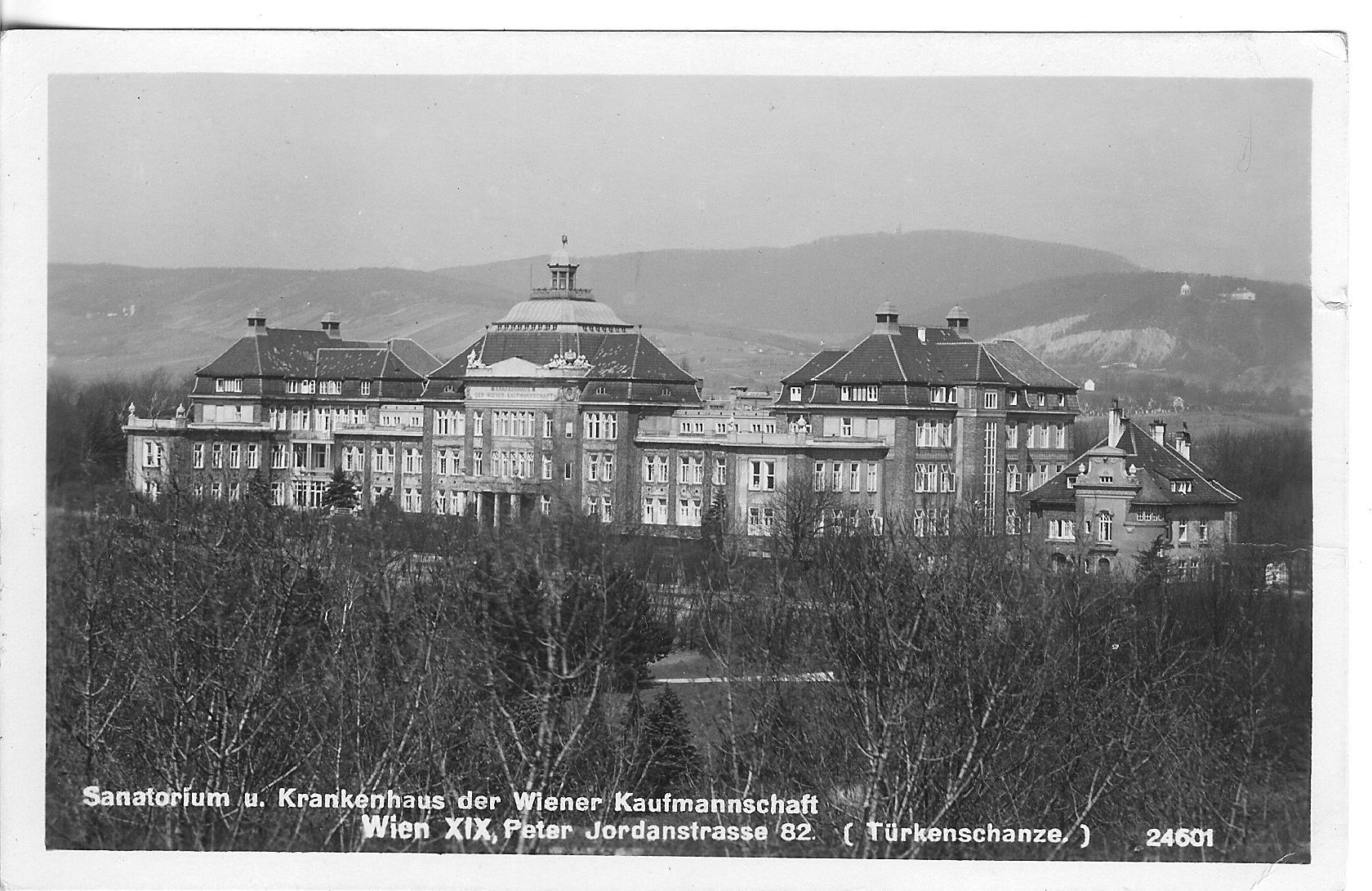 1930: Sanatorium und Krankenhaus